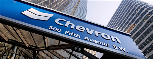 Chevron Expects Up To 7% Production Growth In 2018
