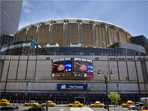 Madison square garden msg flat with earnings due for Madison square garden employment