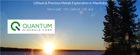 Stocks in play: QMC Quantum Minerals Corp.