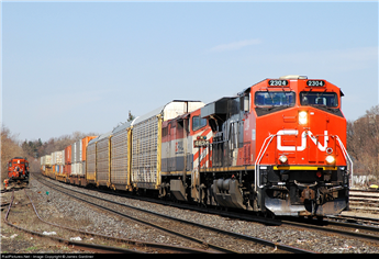 CN Rail Announces $315 Million Of Upgrades To Its Infrastructure In Ontario