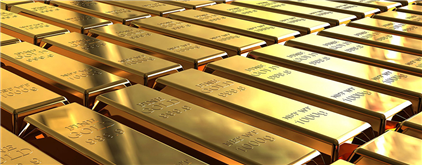 Gold Lower on Deutsche Bank Recovery