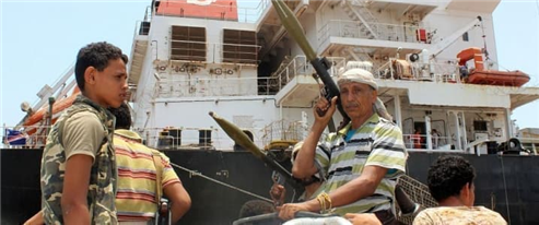Houthis Rebels Hijack Saudi Ship Carrying Oil Rig